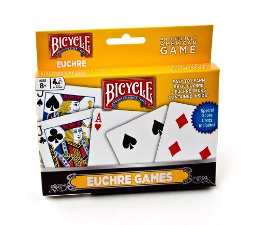 Bicycle Euchre Games Playing Cards by Bicycle by Bicycle