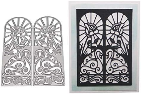 Door DIY Metal Cutting Dies Stencil Scrapbooking Photo Album Stamp Crafts Decor