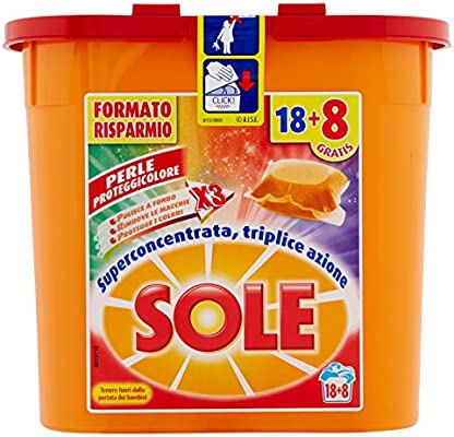 Detergente para lavadora, 3 paquetes de 18 pastillas de 19 ml [54 ...