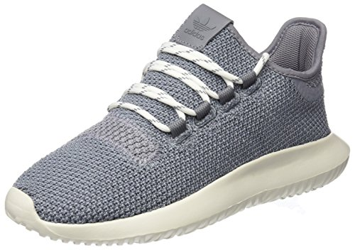 adidas Unisex-Kinder Tubular Shadow Sneaker Grau (Grey Three/Grey Three/Chalk White)