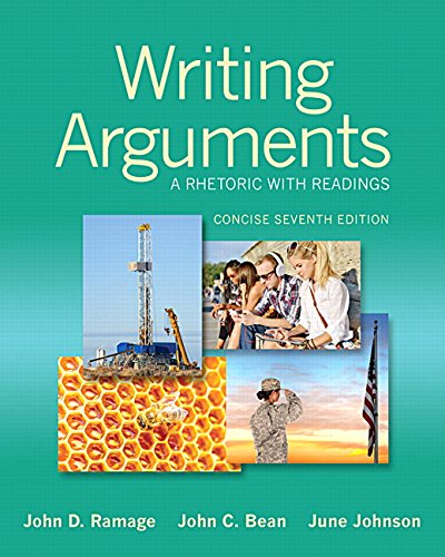 Download Writing Arguments: A Rhetoric with Readings, Concise Edition (7th Edition) Pdf