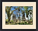 Framed Print of Indonesia, Bali, Mengwi. Scenic of Pura Taman Ayun temple
