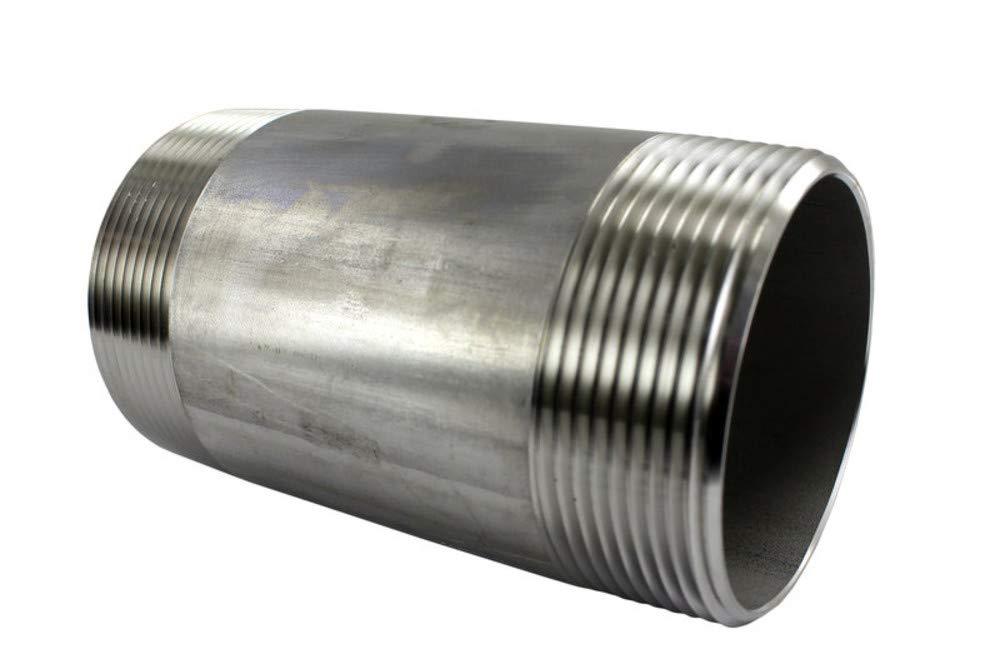 """HFS de acero inoxidable 304 Forjado Tubo montaje 1//4/"""" hembra NPT r Cruz"""