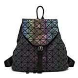 Geometry Women's Handbags Japan Luminous Women Bags Tote Ladies Shoulder Crossbody Messenger Bag Female (Luminous backpack)