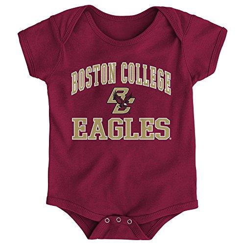 (NCAA Boston College Eagles Newborn & Infant Primary Logo Bodysuit, 24 Months, Garnet)