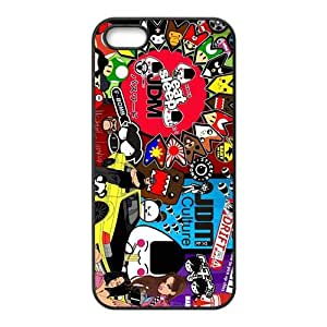 QQQO Cartoon Hot Seller Stylish Hard Case For Iphone 5s