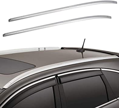 Amazon Com Ants Part Roof Rack For 2012 2016 Honda Crv Cr V Roof Side Rails Bars Silver Automotive