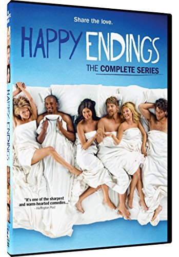 Happy Endings - The Complete Series - DVD (Best Happy Ending Com)