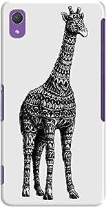 DailyObjects Ornate Giraffe Case For Sony Xperia Z2