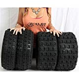 19X7-8 P327 & 18X9.5-8 P316 4PLY BOMBARDIER/CAN-AM 70/90 OCELOT ATV TIRES 4 PACK