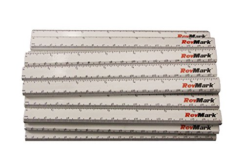 (24 Pack - RevMark Carpenter Pencils w/Printed Ruler)