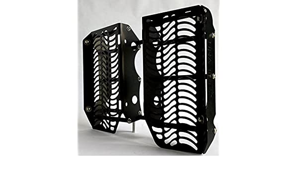 Unabiker ywr45012-K Yamaha 12-15 WR450F Radiator Guards in Black