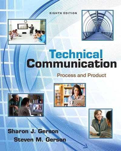 Pdf Reference Technical Communication: Process and Product (8th Edition)
