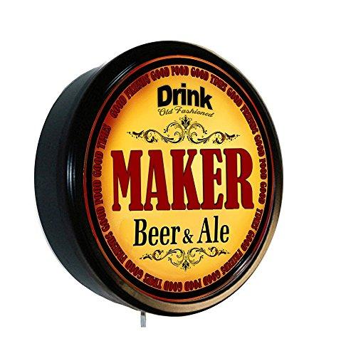 MAKER Beer and Ale Cerveza Lighted Wall - Beer Machine Beer Ale