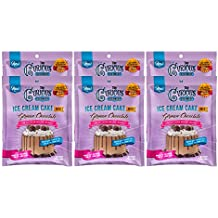 The Curious Creamery Ice Cream Cake Mix, German Chocolate, 6 Pack(six 90 gram pouches)
