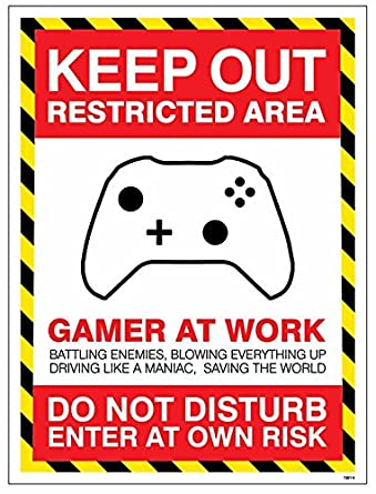 leave food//drink at door Im gaming Caledonia Signs 17200E Keep out