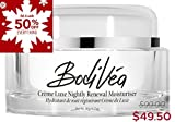 BodiVéa Crème Luxe Nightly Renewal Moisturiser, Highly Effective Anti-Aging Intensive Night Cream with a POTENT Complex of Antioxidants, Humectants, Skin Brighteners and Moisture-Rich Binders Review