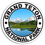 American Vinyl Round Acadia National Park Sticker Hike Travel rv Maine me Camp