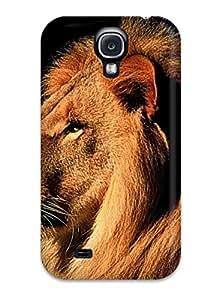 Bfujpjl2707LGKZp Faddish Lion Animal Case Cover For Galaxy S4