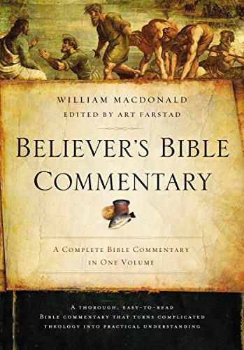 Pdf Bibles Believer's Bible Commentary: Second Edition