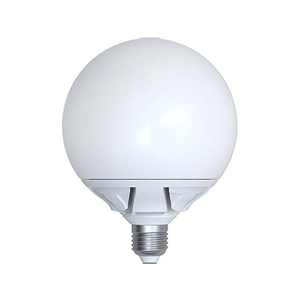 Lampara Led GLOBO 25W E27 2130Lm Luz fria: Amazon.es: Iluminación