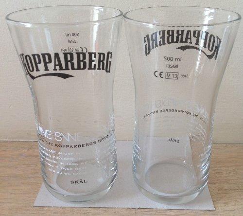 Kopparbergスウェーデンサイダー500 ml / 17.6oz Limited Editionタンブラーガラス( Set of 2 ) by Kopparberg B01N8SZ0Y9
