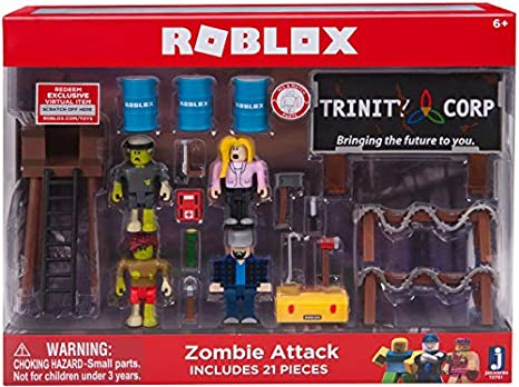 Amazon Com Optovichok Roblox Zombie Attack Playset Roblox Toy Set - roblox zombie attack codes