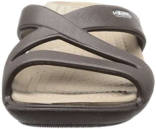 Crocs Heels II Women's Patricia Sandals Brown Espresso Mushroom Wedge prZpw