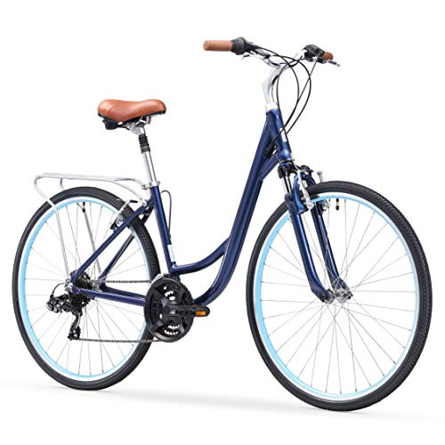sixthreezero Body Ease Women's 21-Speed Comfort Bike, 26