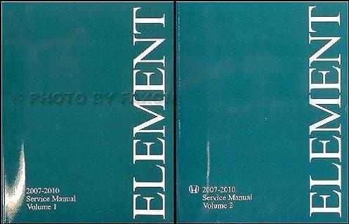 2007 2010 honda element repair shop manual original honda amazon rh amazon com 2007 Honda Element Parts 2007 Honda Element Parts