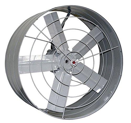 Venti-Delta Exaustor 50 cm 127 V Axial Industrial, 804001, 250 W, Cinza