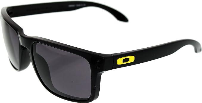df5f77b309 Oakley Lunettes de soleil Rossi Signature Série Holbrook 9102 21 Noir - One  Size