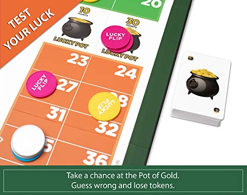 Lucky Flip - NEW Roulette Style Party Game   Play It Safe or Test Your Luck   Fun For Adults & Teens