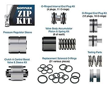6r60 6r80 zf6hp19 zf6hp26 zf6hp32 Trans Válvula cuerpo Kit de reconstrucción sonnax cremallera kit: Amazon.es: Coche y moto