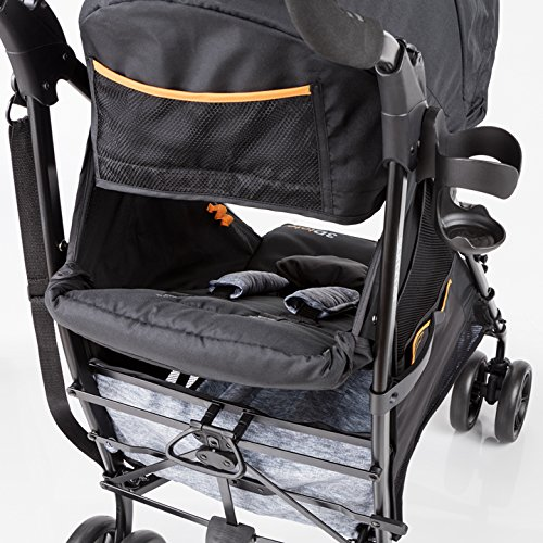 Summer Infant 3Dtote Convenience Stroller, Orange & Heather Gray by Summer Infant (Image #2)