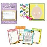 Baby Shower Juegos Set para 24-Baby Shower, Whats en su Bolso Juego de bingo, palabra Scramble, cero entradas y Asesoramiento Nueva Mamá Tarjetas