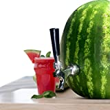 #5: Cobble Creek Watermelon Beverage Dispenser Spigot For Party Outdoor Patio Bar Home Summer Drinks