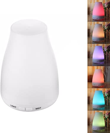 LED Ultrasonic Humidifier Air Purifier Essential Oil Aroma