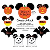 CREATE A PACK of Halloween Disney Inspired Cruise Magnets