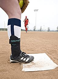 Aircast AirSport Ankle Support Brace, Left Foot, Medium