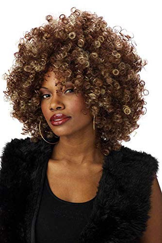 ESSA OAT clothes series 70 Foxy Cleopatra Afro Fro Wig Women]()