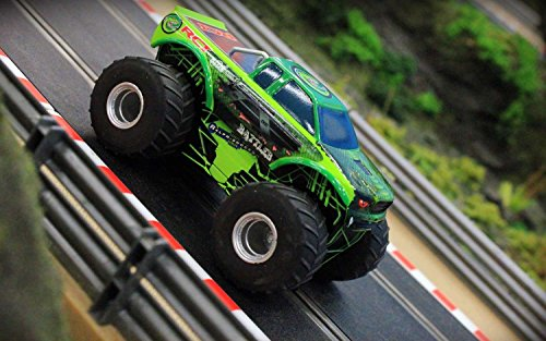 Scalextric Monster Truck The Rattler Team Track Slot Car (1:32 Scale)