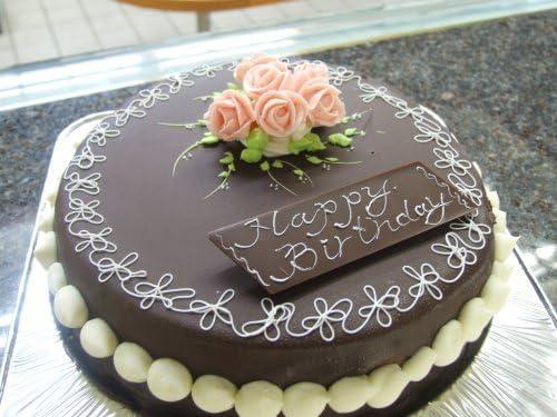 (ロリアン)昔懐かしい デコレーションチョコレートケーキ5号 (直径16cm 高さ5cm)