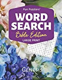 """Word Search: Bible Edition Genesis: 8.5"""" x 11"""" Large Print (Fun Puzzlers Large Print Word Search Books)"""