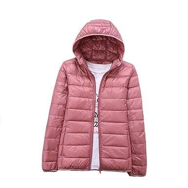 Daunenjacke damen leicht rosa