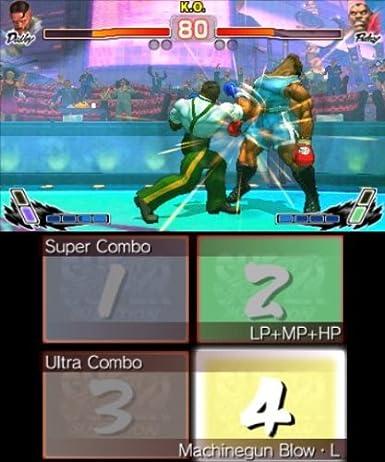 Super Street Fighter IV (3D Edition) [PEGI]: Amazon.es ...