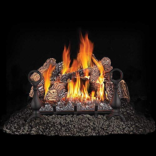 Napoleon Fiberglow GL24NE Vented Gas Log Sets Burning Natural Gas (24)