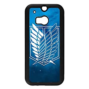 Htc One M8 Attractive Perfect Style Attack On Titan Phone Case for Htc One M8 Passionate Anime Attack On Titan Cover Case
