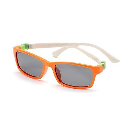 Aclth Niños Gafas de Sol polarizadas de los niños del Marco Completo del Gel de Silicona