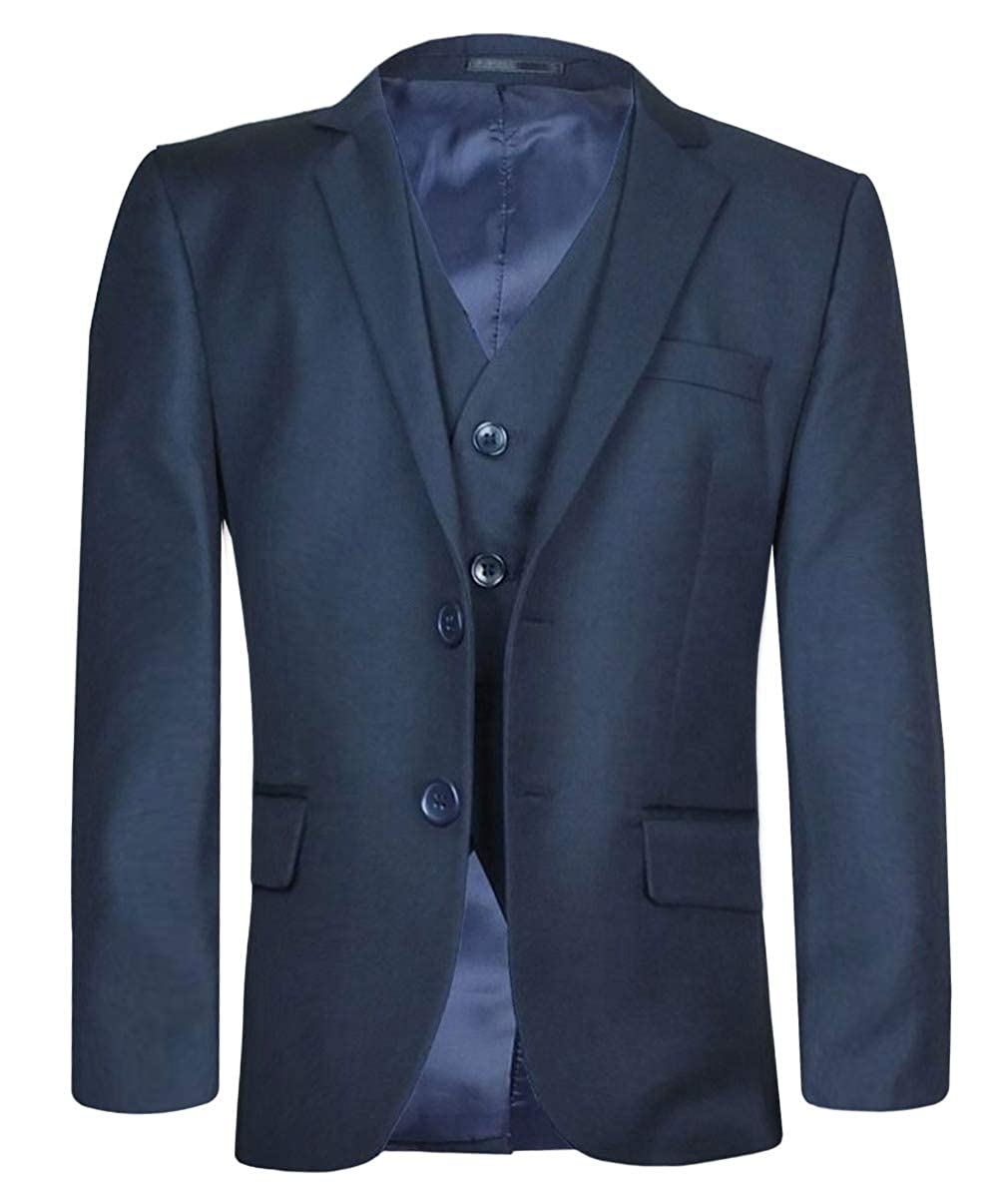 SIRRI Boys Italian Cut Navy Blue Suit Sets